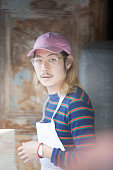 Chef Danny Bowien is photographed for Madame Figaro on June 6 2015 in Paris France PUBLISHED IMAGE CREDIT MUST READ Gaetan...