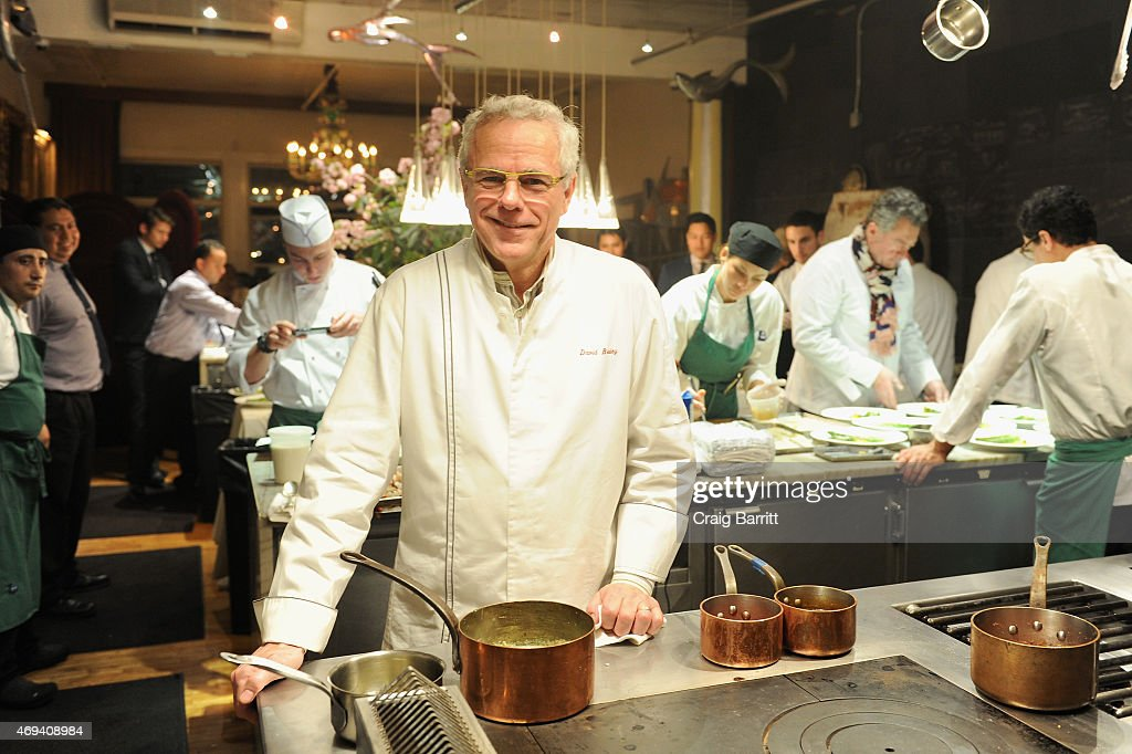 Test Kitchen Chef new york culinary experience private dinner honoring chef david
