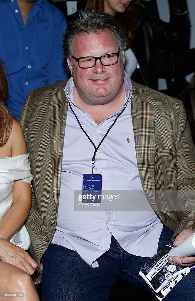 Chef David Burke attends the Emerson By Jackie Fraser-Swan fashion show during Mercedes-Benz Fashion Week Spring 2014 at The Studio at Lincoln Center on September 8, 2013 in New York City.