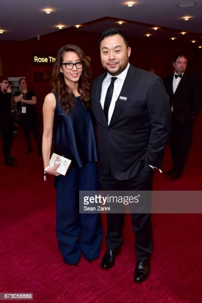 Chef David Chang attend the 2017 TIME 100 Gala at Jazz at Lincoln Center on April 25 2017 in New York City