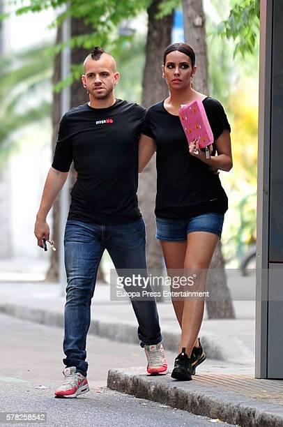 Chef David Munoz and Cristina Pedroche are seen on June 9 2016 in Madrid Spain