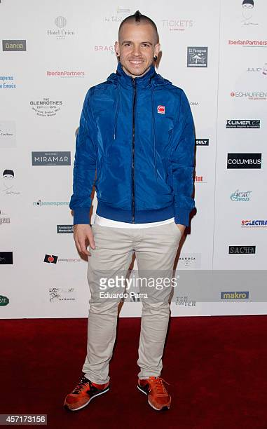 Chef David Munoz attends Charity dinner photocall at Callao City Lights cinema on October 13 2014 in Madrid Spain