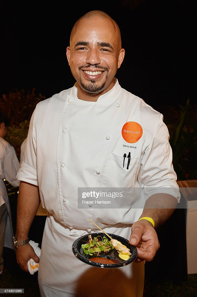 Chef David Sears of Sushi Samba attends the Thrillist's BBQ & The Blues hosted by Bobby Deen during the Food Network South Beach Wine & Food Festival at Eden Roc Hotel on February 22, 2014 in Miami Beach, Florida.