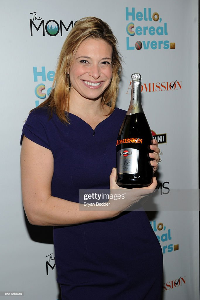 Chef Donatella Arpaia attends the Moms and MARTINI celebrate Tina Fey and release of her new film, 'Admission' at Disney Screening Room on March 5, 2013 in New York City.