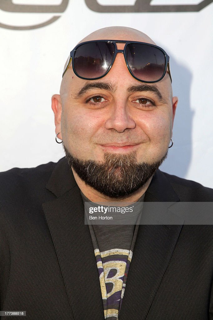 Chef <a gi-track='captionPersonalityLinkClicked' href=/galleries/search?phrase=Duff+Goldman&family=editorial&specificpeople=5366392 ng-click='$event.stopPropagation()'>Duff Goldman</a> attends the Festa Italiana with Giada de Laurentiis opening night celebration of the third annual Los Angeles Food & Wine Festival on August 22, 2013 in Los Angeles, California.
