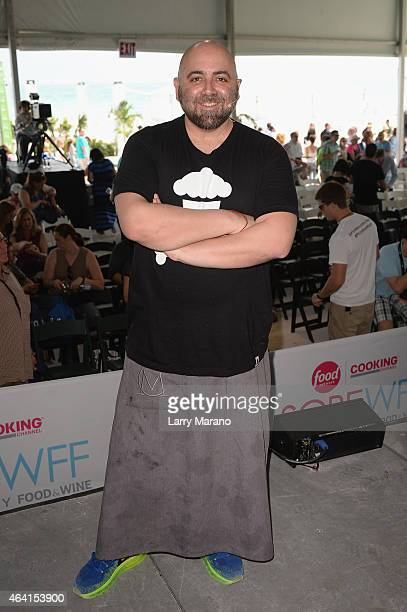 Chef Duff Goldman poses at Whole Foods Market Grand Tasting Village featuring MasterCard Grand Tasting Tents KitchenAid Culinary Demonstrations...