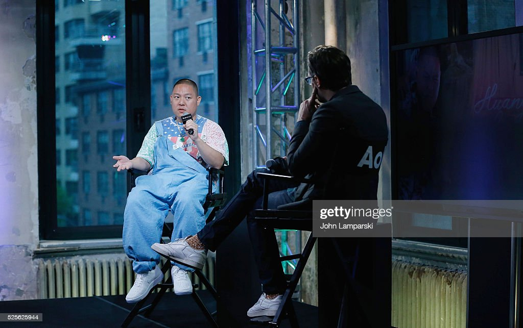 Chef Eddie Huang of 'Huang's World' attends AOL Build Speaker Series at AOL Studios In New York on April 28, 2016 in New York City.