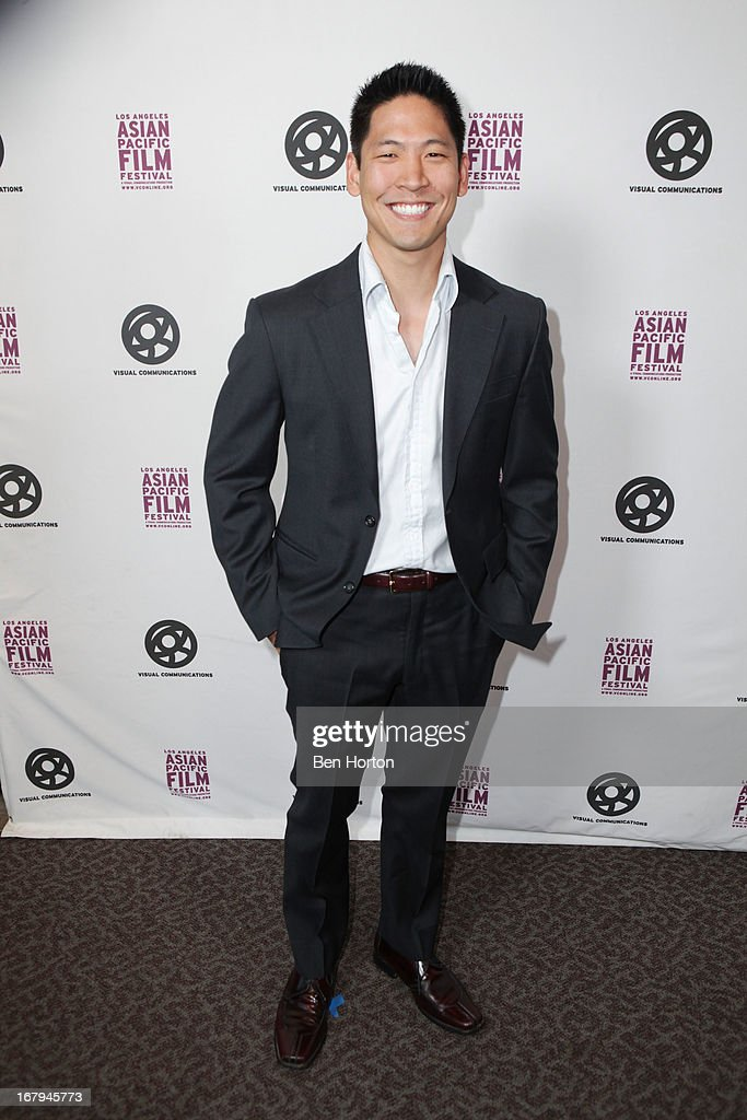 Chef Eric Sun attends the 2013 LA Asian Pacific Film Festival - opening night premiere of 'Linsanity' at the Directors Guild Of America on May 2, 2013 in Los Angeles, California.