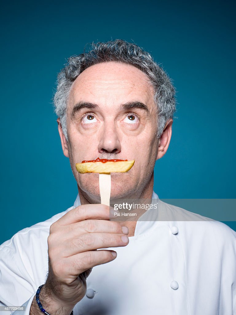 Chef Ferran Adria is photographed for ES magazine on June 3, 2013 in London, England.