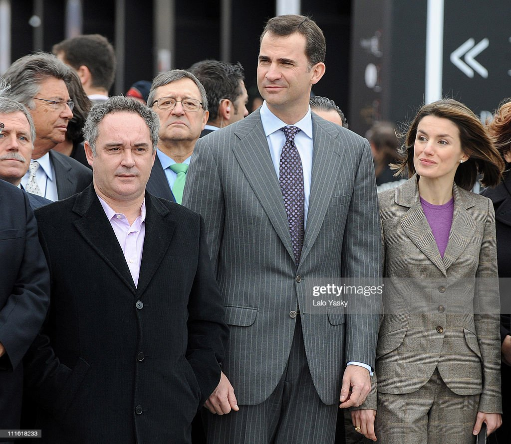 HRH Prince Felipe and Princess Letizia Attend Alimentaria 2008