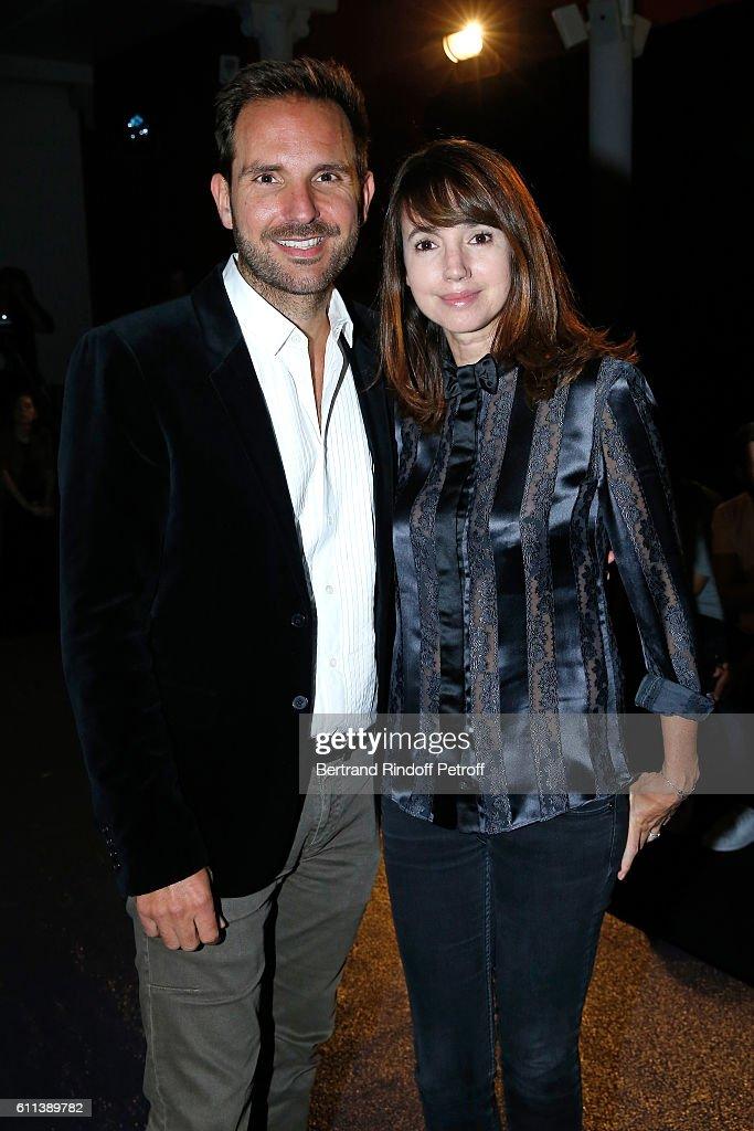 Alexis Mabille : Front Row  - Paris Fashion Week Womenswear Spring/Summer 2017