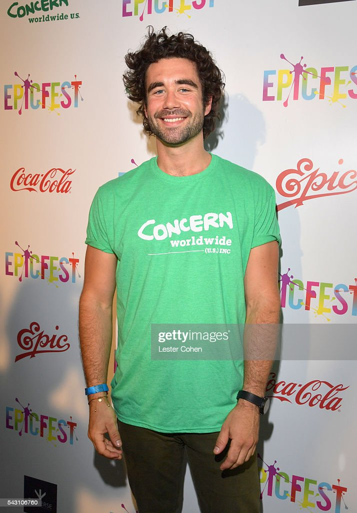 Chef Gabe Kennedy attends EpicFest 2016 hosted by L.A. Reid and Epic Records at Sony Studios on June 25, 2016 in Los Angeles, California.