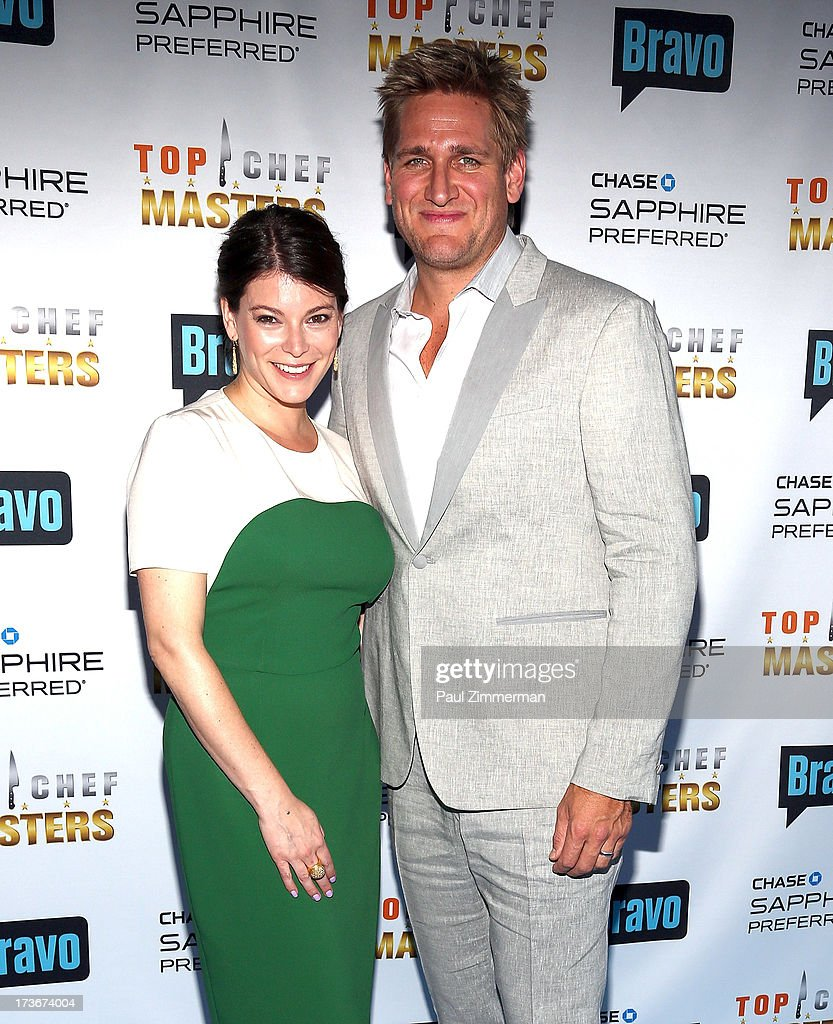 Chef Gail Simmons and Chef Curtis Stone attend Bravo's 'Top Chef Masters' Season 5 Premiere Celebration at 82 Mercer on July 16, 2013 in New York City.