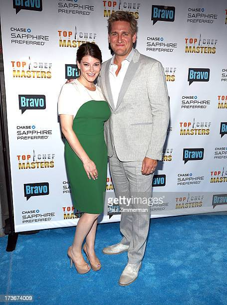 Chef Gail Simmons and Chef Curtis Stone attend Bravo's 'Top Chef Masters' Season 5 Premiere Celebration at 82 Mercer on July 16 2013 in New York City