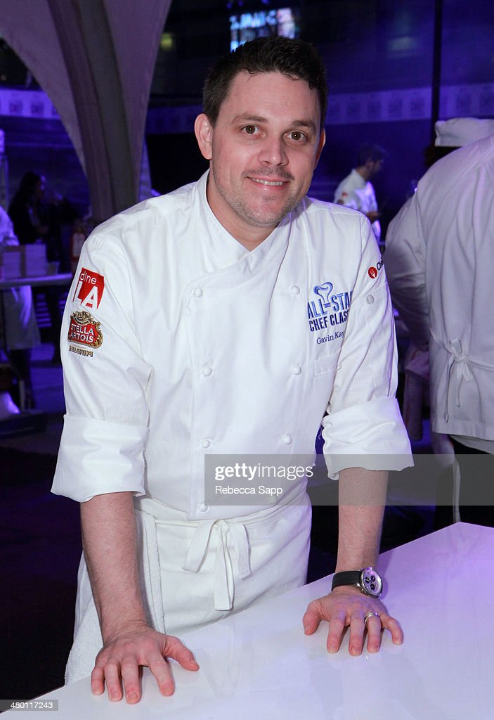 Chef Gavin Kaysen at the All-Star Chef Classic - Grill And Chill Presented By dineLA And Stella Artois at L.A. LIVE on March 22, 2014 in Los Angeles, California.