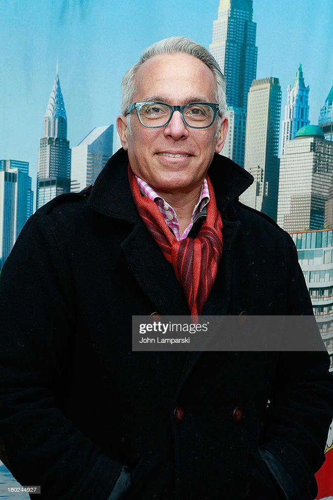 Chef Geoffrey Zakarian attends the Norwegian Warming Station launch in Times Square on January 28, 2013 in New York City.