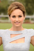 Chef Giada De Laurentiis arrives at the Foundation Polo Challenge held at the Santa Barbara Polo and Racquet Club on July 9 2011 in Santa Barbara...