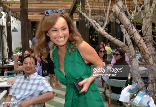 Chef Giada De Laurentiis attends Ciao Chow An Italian Dim SumStyle Champagne Brunch With Giada De Laurentiis during the Food Network South Beach Wine...