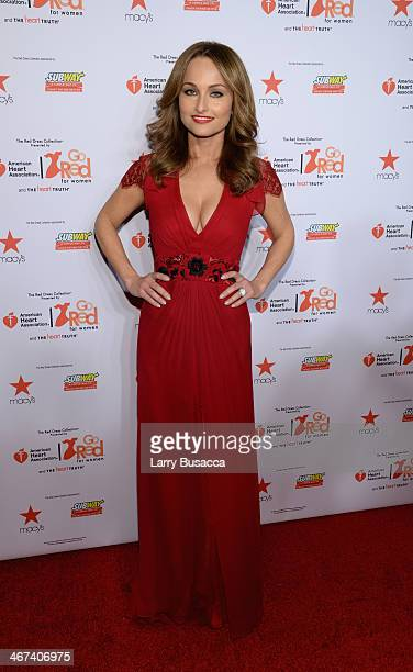 Chef Giada De Laurentiis attends Go Red For Women The Heart Truth Red Dress Collection 2014 Show Made Possible By Macy's And SUBWAY Restaurants at...