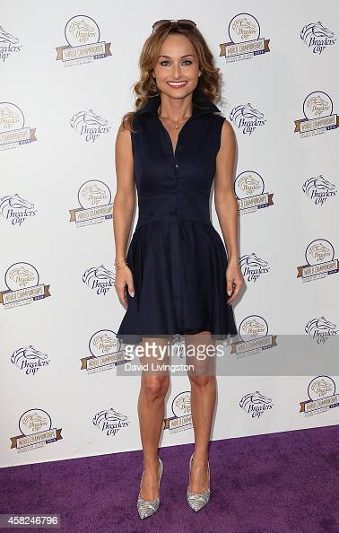 Chef Giada De Laurentiis attends the 2014 Breeders' Cup World Championships at Santa Anita Park on November 1 2014 in Arcadia California