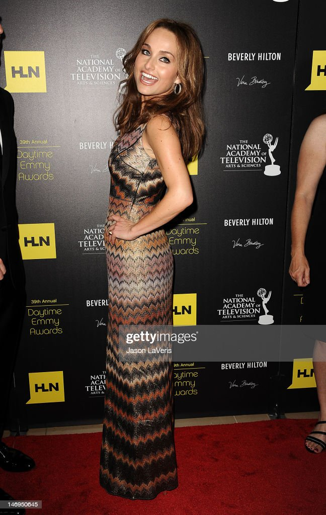 Chef Giada De Laurentiis attends the 39th annual Daytime Emmy Awards at The Beverly Hilton Hotel on June 23, 2012 in Beverly Hills, California.