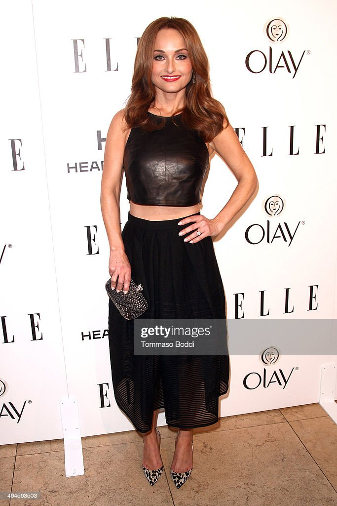 Chef Giada De Laurentiis attends the ELLE Women In Television Celebration held at the Sunset Tower on January 22, 2014 in West Hollywood, California.