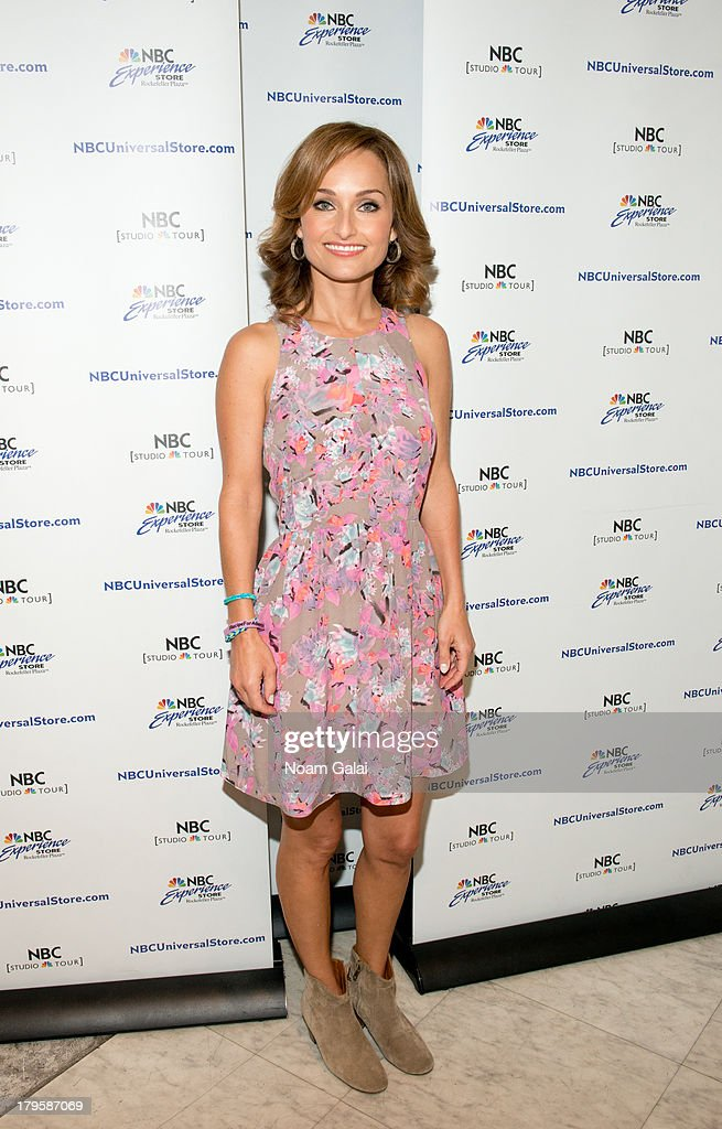 Chef Giada De Laurentiis visits the NBC Experience Store on September 5 2013 in New York City