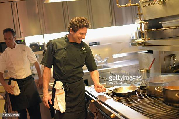 Chef Giovanni Rocchio attends a Dinner Hosted By Marc Vetri And Giovanni Rocchio Part of the Taste Fort Lauderdale Seriesduring 2016 Food Network...