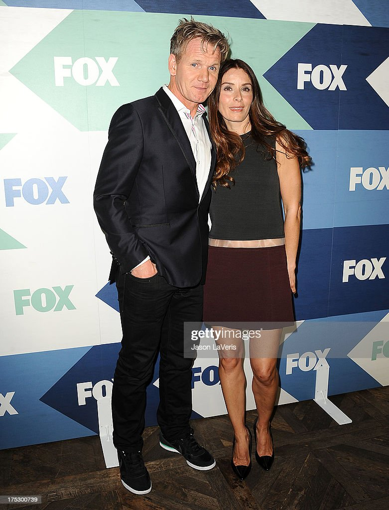 Chef Gordon Ramsay and wife Tana Ramsay attend the FOX All-Star Party on August 1, 2013 in West Hollywood, California.