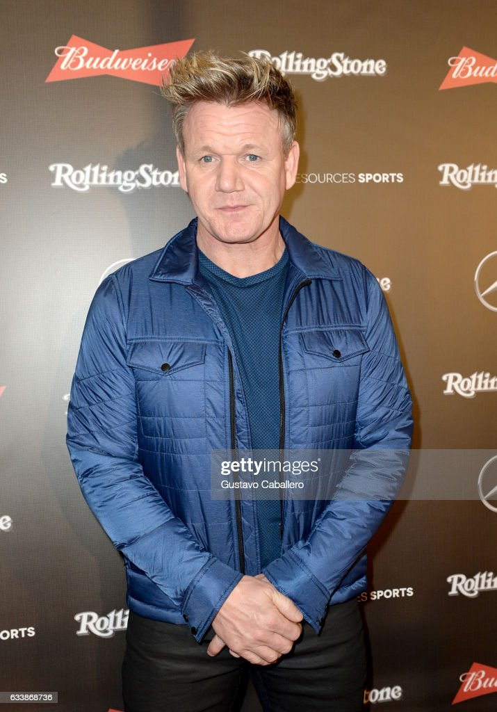 Chef Gordon Ramsay at the Rolling Stone Live: Houston presented by Budweiser and Mercedes-Benz on February 4, 2017 in Houston, Texas. Produced in partnership with Talent Resources Sports.