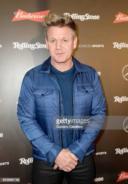 Chef Gordon Ramsay at the Rolling Stone Live Houston presented by Budweiser and MercedesBenz on February 4 2017 in Houston Texas Produced in...