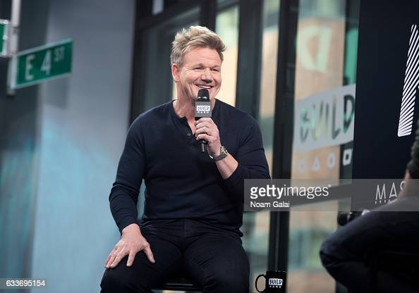 Chef Gordon Ramsay attends Build Series to discuss 'MasterClass Gordon Ramsay Teaches Cooking' at Build Studio on February 3 2017 in New York City