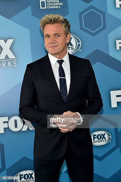 Chef Gordon Ramsay attends FOX 2016 Upfront at Wollman Rink on May 16 2016 in New York City
