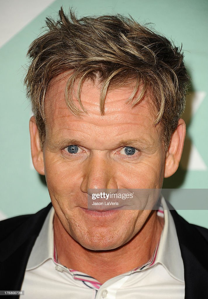 Chef <a gi-track='captionPersonalityLinkClicked' href=/galleries/search?phrase=Gordon+Ramsay&family=editorial&specificpeople=210520 ng-click='$event.stopPropagation()'>Gordon Ramsay</a> attends the FOX All-Star Party on August 1, 2013 in West Hollywood, California.