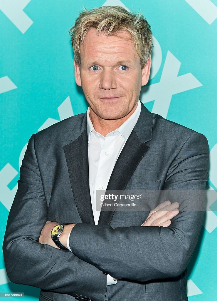 Chef Gordon Ramsay of 'MasterChef' attends the FOX 2103 Programming Presentation Post-Party at Wollman Rink - Central Park on May 13, 2013 in New York City.