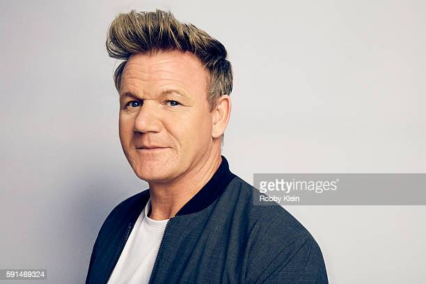 Chef Gordon Ramsay poses for a portrait at the FOX Summer TCA Press Tour at Soho House on August 9 2016 in Los Angeles California