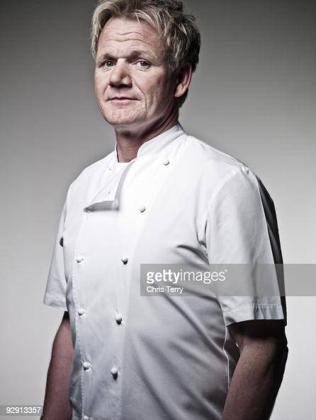 Chef Gordon Ramsay poses for a portrait shoot in London on September 22 2009