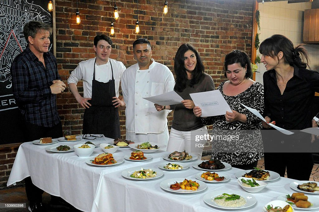 Chef <a gi-track='captionPersonalityLinkClicked' href=/galleries/search?phrase=Gordon+Ramsay&family=editorial&specificpeople=210520 ng-click='$event.stopPropagation()'>Gordon Ramsay</a> travels to Boston to visit La Galleria 33 in the first part of a special two-part episode of KITCHEN NIGHTMARES premiering Friday, October 26 (8:00-9:00 PM ET/PT) on FOX.