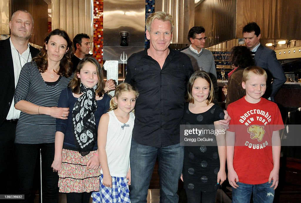 Gordon ramsay getty images for Hells kitchen kids