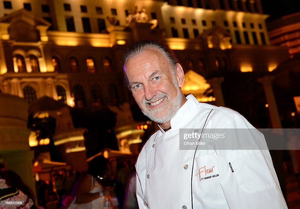 Chef Hubert Keller appears at Vegas Uncork'd by Bon Appetit's Grand Tasting event at Caesars Palace on May 10, 2013 in Las Vegas, Nevada.
