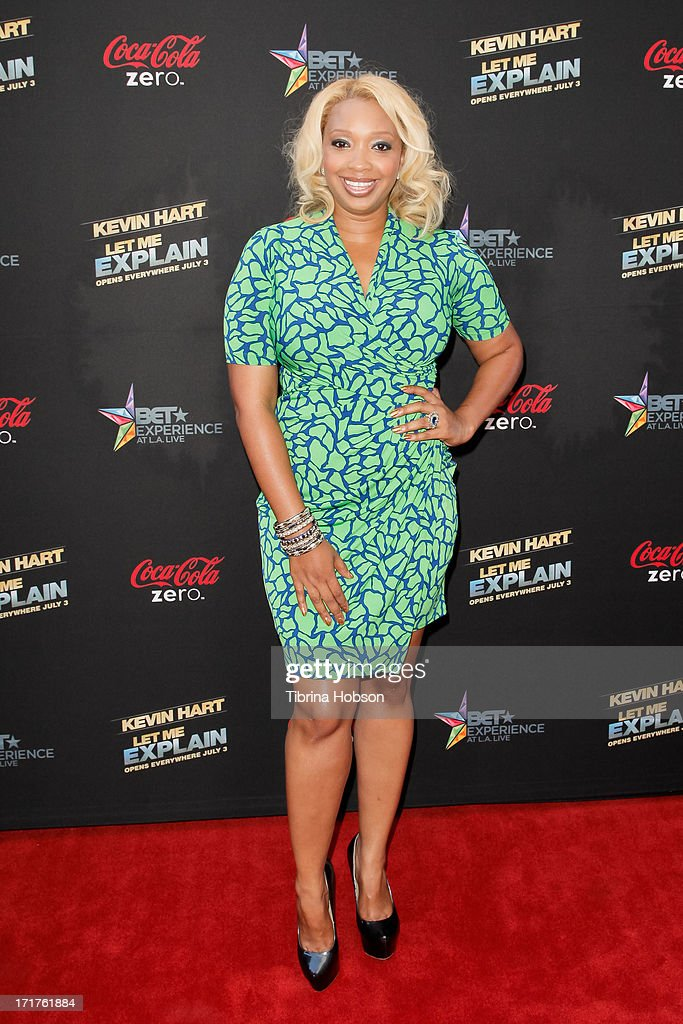 Chef Huda attends the 'Kevin Hart: Let Me Explain' Los Angeles premiere at Regal Cinemas L.A. Live on June 27, 2013 in Los Angeles, California.