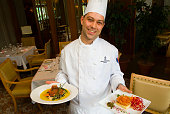 Chef in Montreal's Intercontinental Hotel