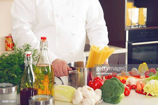 chef in the kitchen