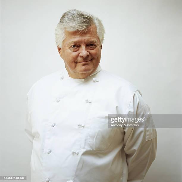 Chef in uniform, portrait