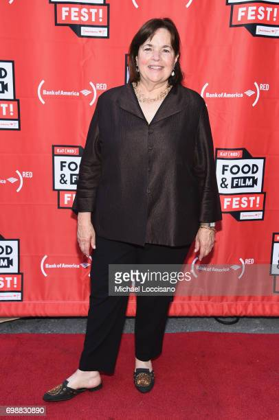 Chef Ina Garten arrives at EAT Food Film Fest at Bryant Park on June 20 2017 in New York City Photo by Michael Loccisano/Getty Images for