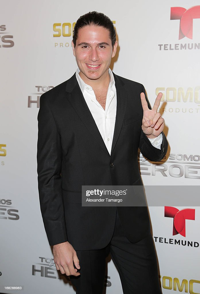 Chef James attends Telemundo's Todos Somos Heroes Gala on May 7, 2013 in Miami, Florida.