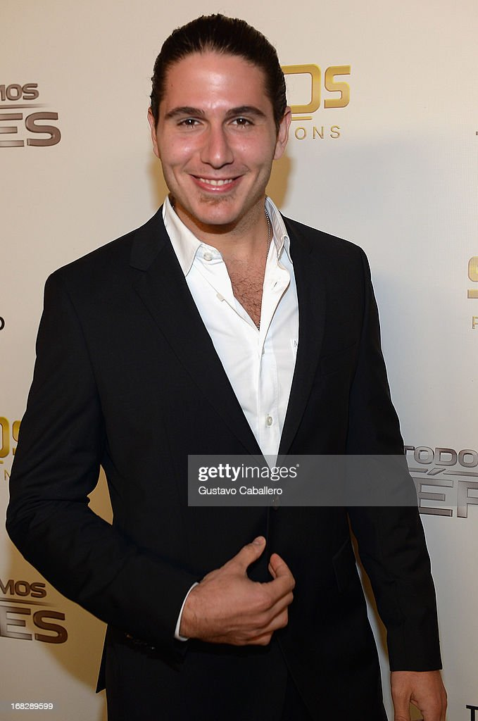 Chef James attends the Telemundo's Todos Somos Heroes Gala on May 7, 2013 in Miami, United States.
