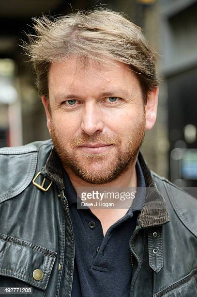 Chef James Martin Announces first ever live UK tour 'Plates Mates and Automobiles' during a photocall at Percy Mews on October 15 2015 in London...