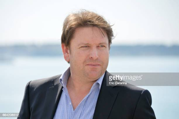 Chef James Martin attends the 'James Martin's French Adventure' photocall at La Rotonde on April 3 2017 in Cannes France