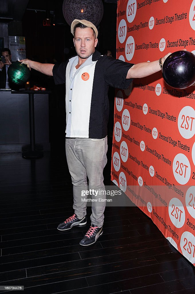 Chef Jason Roberts attends the Second Stage Theatre 2013 Bowling Classic at Lucky Strike on February 4, 2013 in New York City.